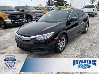 Used 2016 Honda Civic LX Heated Front Seats - Remote Keyless Entry for sale in Calgary, AB
