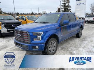 Used 2017 Ford F-150 Lariat Heated Steering Wheel - Voice-Activated Navigation for sale in Calgary, AB