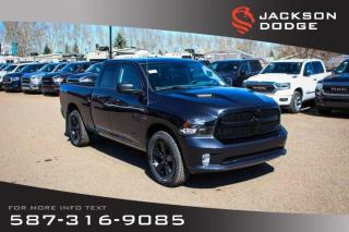 New 2019 RAM 1500 Classic Express Quad Cab | Heated Seats and Steering Wheel for sale in Medicine Hat, AB