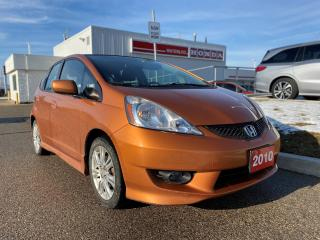 Used 2010 Honda Fit Sport Rare Orange Honda Fit! Tires and Brakes are in Great Condition for sale in Waterloo, ON