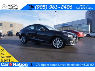 Used 2015 Mazda MAZDA3 GT | 6 SPEED | SUNROOF | NAV | REAR CAM | HTD SEAT for sale in Hamilton, ON