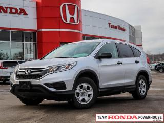 Used 2015 Honda CR-V LX | 2WD | Heated Seats | Bluetooth | 2.4L 4 Cyl. for sale in Milton, ON