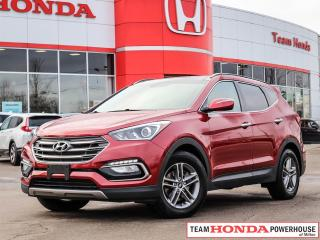 Used 2017 Hyundai Santa Fe Sport Luxury | Pano. Roof | Navigation | H. Wheel | Leather for sale in Milton, ON