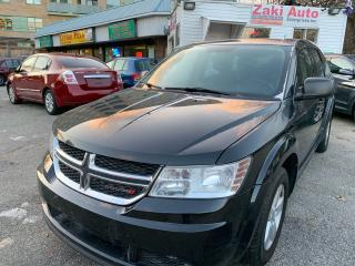 Used 2013 Dodge Journey 7 Passengers/4Cly Safety Certification included Price for sale in Toronto, ON