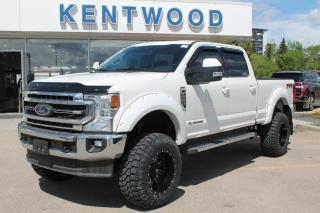 New 2020 Ford F-350 Super Duty SRW LARIAT 618A 4X4 Crew Cab 6.7L V8 Diesel, Pre-Collision Assist, Reverse Camera and Sensing System, and Trailer Tow Package for sale in Edmonton, AB