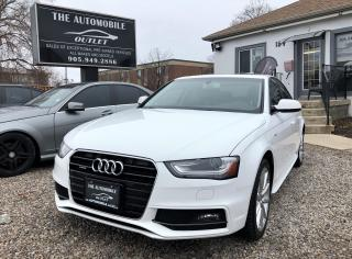Used 2015 Audi A4 Progressiv plus MANUAL NAVI NO ACCIDENT for sale in Mississauga, ON