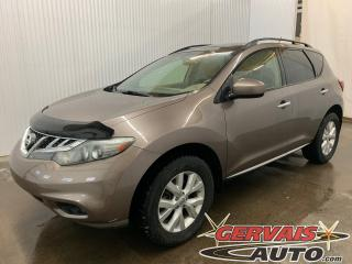 Used 2013 Nissan Murano SV AWD Toit Panoramique MAGS Caméra de recul for sale in Trois-Rivières, QC