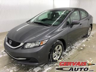 Used 2015 Honda Civic LX A/C CAMÉRA DE RECUL SIÈGES CHAUFFANTS for sale in Shawinigan, QC