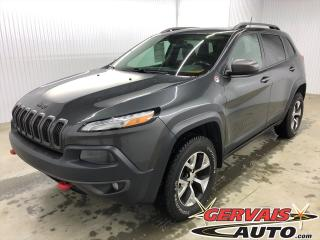 Used 2016 Jeep Cherokee Trailhawk V6 4x4 GPS Toit Panoramique MAGS for sale in Shawinigan, QC