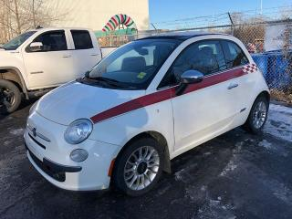 Used 2012 Fiat 500 Lounge  Convertible for sale in Ottawa, ON