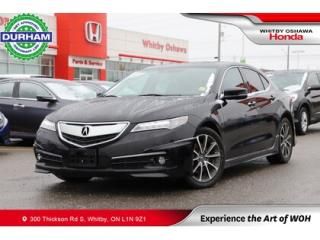 Used 2015 Acura TLX Sh-Awd for sale in Whitby, ON