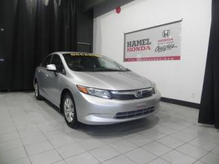 Used 2012 Honda Civic LX for sale in St-Eustache, QC
