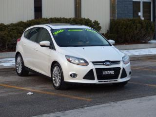 Used 2012 Ford Focus TITANIUM,LEATHER,NAVIGATION,FULLY LOADED,NEW TIRES for sale in Mississauga, ON