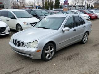 Used 2003 Mercedes-Benz C-Class 2.6L for sale in Edmonton, AB