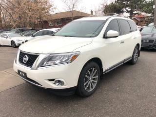 Used 2015 Nissan Pathfinder 4WD , LEATHER, SUNROOF. FULLY LOADED . for sale in Toronto, ON