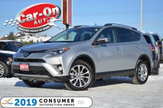 Used 2017 Toyota RAV4 Limited AWD LEATHER NAV SUNROOF ONLY 28,000 KM LOA for sale in Ottawa, ON