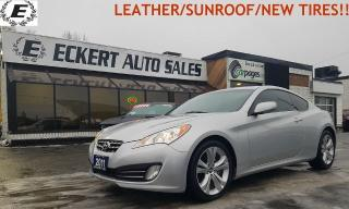 Used 2011 Hyundai Genesis Coupe Premium/LEATHER/SUNROOF!! for sale in Barrie, ON