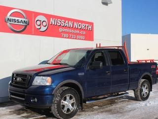 Used 2007 Ford F-150 FX4/4x4/CREW CAB/DVD HEADRESTS for sale in Edmonton, AB