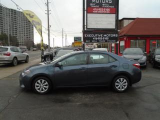 Used 2016 Toyota Corolla LE/ NO ACCIDENT / SUPER CLEAN/ CERTIFIED / MINT / for sale in Scarborough, ON