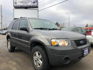 Used 2005 Ford Escape XLS, ACCIDENT FREE, 3 YR WARRANTY, CERTIFIED for sale in Woodbridge, ON
