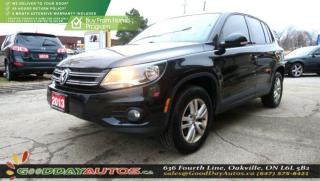 Used 2013 Volkswagen Tiguan Trendline|LOW KM|NO ACCIDENT|BLUETOOTH|CERTIFIED for sale in Oakville, ON