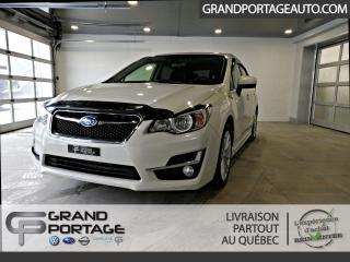 Used 2015 Subaru Impreza AWD Hayon 5 portes CVT 2,0i groupe sport for sale in Rivière-Du-Loup, QC