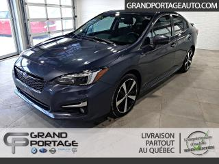 Used 2017 Subaru Impreza AWD Sport-tech berline CVT **Cuir**Navig for sale in Rivière-Du-Loup, QC