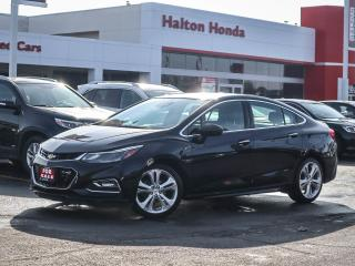 Used 2016 Chevrolet Cruze PREMIER|NO ACCIDENTS for sale in Burlington, ON