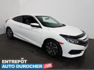 Used 2017 Honda Civic COUPE LX + AIR CLIMATISÉ - Sièges Chauffants - for sale in Laval, QC