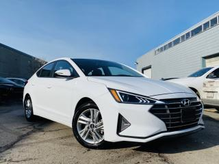 Used 2020 Hyundai Elantra AUTO|SUNROOF|ALLOYS|REAR VIEW CAMERA|HEATED SEATS & STEERING for sale in Brampton, ON