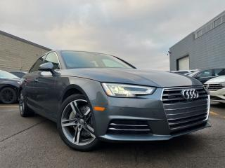 Used 2017 Audi A4 AUTO|FRONT & BACK CAMERA WITH SENSORS|BLIND SPOTS|SUN ROOF for sale in Brampton, ON