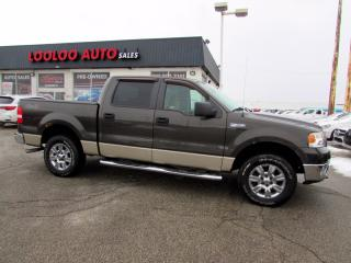 Used 2007 Ford F-150 Super Cerw 4x4 Auto V8 No Accident Certified for sale in Milton, ON