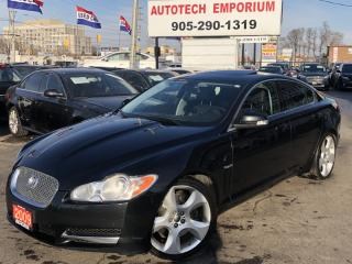 Used 2009 Jaguar XF Supercharged Leather/Sunroof/Navigation/Camera for sale in Mississauga, ON