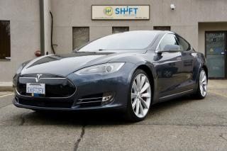 Used 2014 Tesla Model S P85D AUTOPILOT, PERFORMANCE +, INSANE MODE, BRAND NEW BRAKES AND TIRES! for sale in Burlington, ON