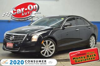 Used 2013 Cadillac ATS 2.0L Turbo Luxury AWD LEATHER NAV SUNROOF for sale in Ottawa, ON