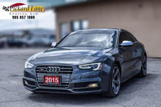 Used 2015 Audi S5 3.0T Technik $223.20 BI WEEKLY! $0 DOWN! BACKUP CAMERA||NAVIGATION||CERTIFIED||S5!! for sale in Bolton, ON