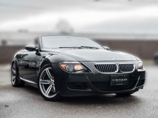 Used 2007 BMW 6 Series M6 I Convertible   Low KM   Accident free   One Owner for sale in Toronto, ON