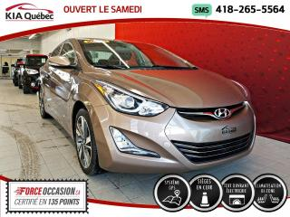 Used 2015 Hyundai Elantra LIMITED* CUIR* GPS* CAMERA* TOIT OUVRANT for sale in Québec, QC