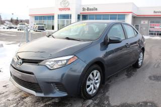 Used 2016 Toyota Corolla LE BLUETOOTH SIEGES CHAUFFANTS CAMERA RECUL for sale in St-Basile-le-Grand, QC