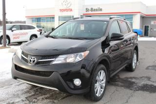Used 2013 Toyota RAV4 LIMITED CUIR SIEGES CHAUFFANTS CAMÉRA DE RECU for sale in St-Basile-le-Grand, QC