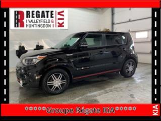 Used 2017 Kia Soul SX TURBO Noir / rouge, bas kilometrage for sale in Salaberry-de-Valleyfield, QC