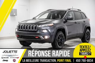 Used 2016 Jeep Cherokee Trailhawk, AWD, NAVIGATION, TOIT!! for sale in Joliette, QC