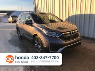 New 2020 Honda CR-V Sport Remote Moonroof Heated Seats for sale in Red Deer, AB