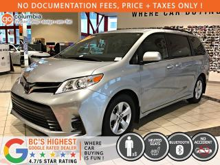 Used 2019 Toyota Sienna LE - Accident Free / Heated Seats / 8 Passenger for sale in Richmond, BC