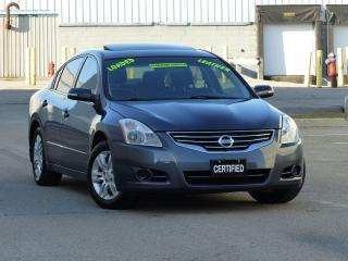 Used 2012 Nissan Altima 2.5SL,LEATHER-HEATD SEATS,BOSE,SUNROOF,LOADED,NEW for sale in Mississauga, ON