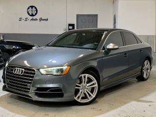 Used 2015 Audi S3 TECHNIK|NAV|BLIND SPOT|DRIVE SELECT|ACCIDENT FREE for sale in Oakville, ON