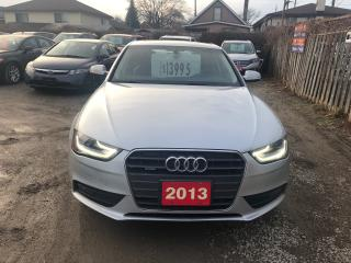 Used 2013 Audi A4 quattro for sale in Hamilton, ON