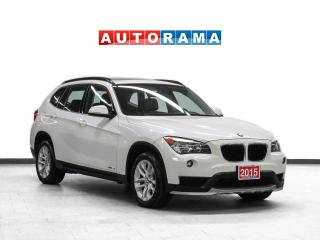 Used 2015 BMW X1 Leather Panoramic Sunroof for sale in Toronto, ON
