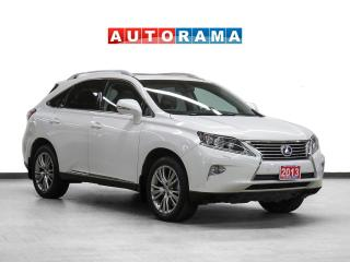 Used 2013 Lexus RX 350 4WD Navigation Leather Sunroof Backup Cam for sale in Toronto, ON