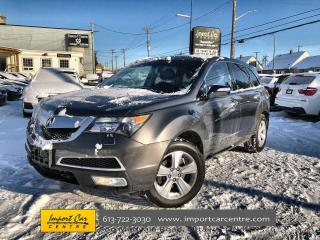 Used 2012 Acura MDX LEATHER  ROOF  HEATED SEATS  BACKUP CAMERA for sale in Ottawa, ON